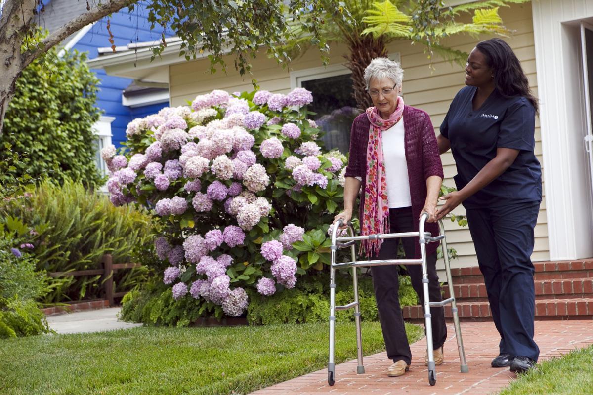 Caregivers receive great training at Amada.