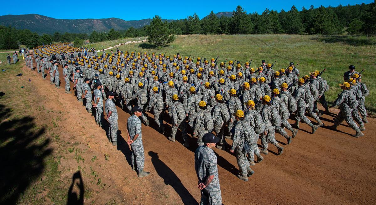 Tougher basic training trims Air Force Academy's freshman class