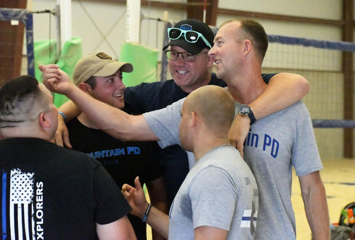Monument PD serves fun and competition in round-robin tournament