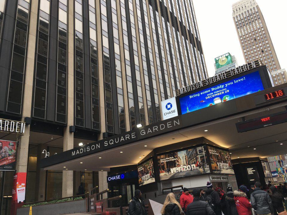 Madison Square Garden and New York provide unique setting for an Air Force basketball road trip
