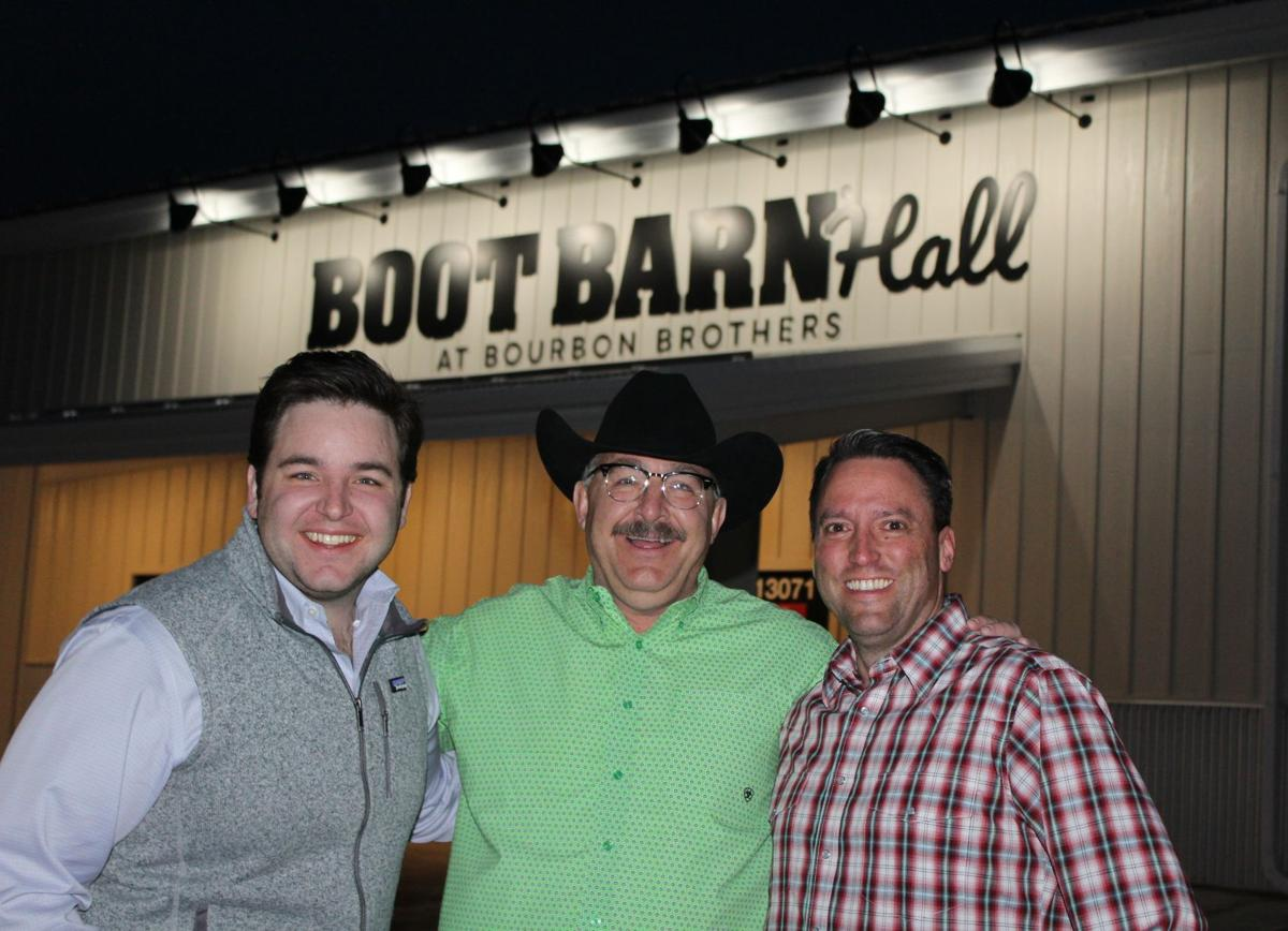 Bourbon Brothers Entertainment CEO Mitchell Roth, Chairman of the Board J.W. Roth and Bourbon Brothers Entertainment president Brock Matthews