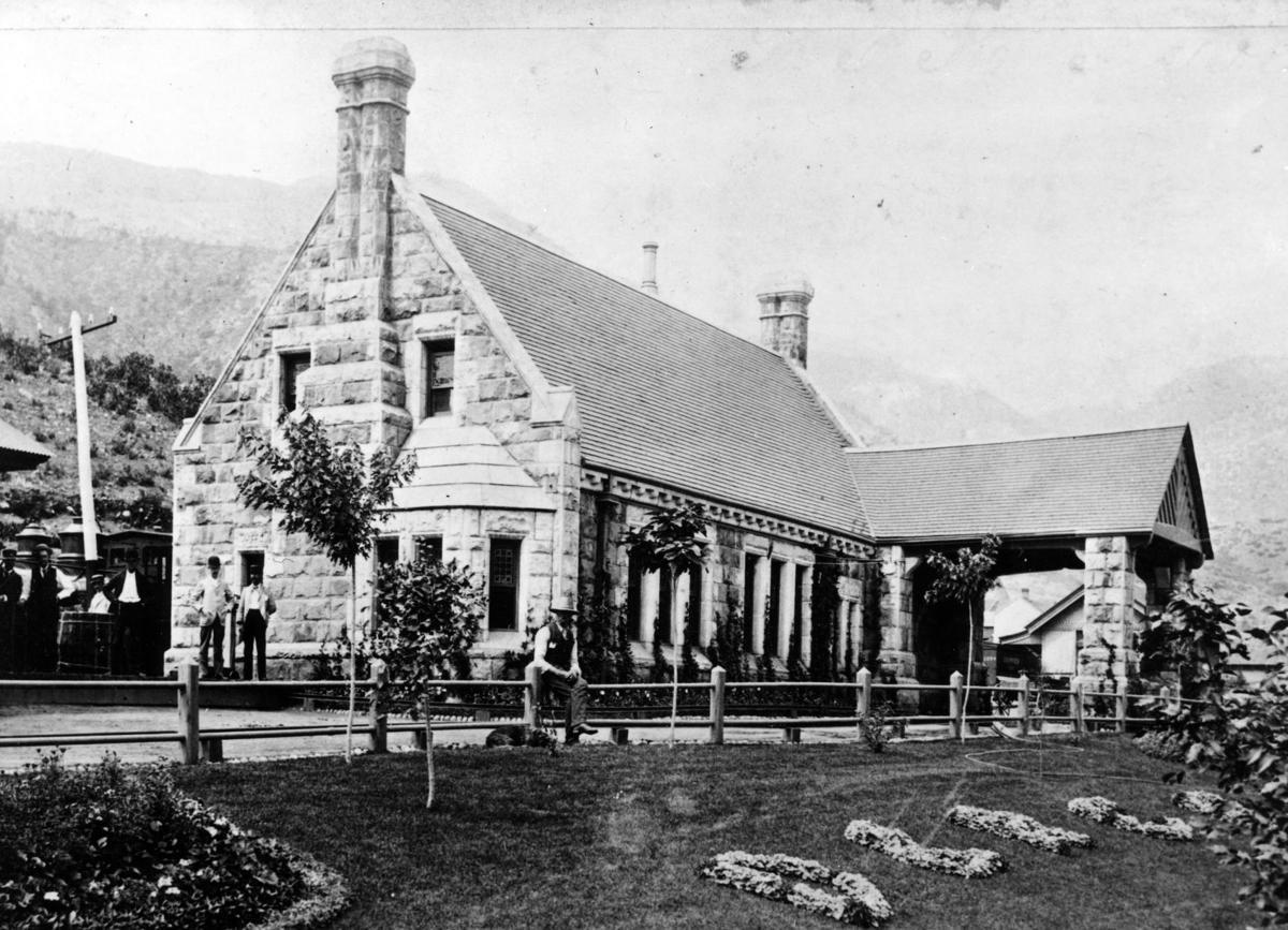 Denver and Rio Grande Railroad depot in Manitou Springs (copy)