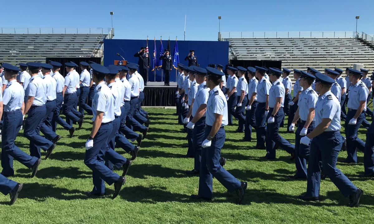 Air Force Academy commandant change of command