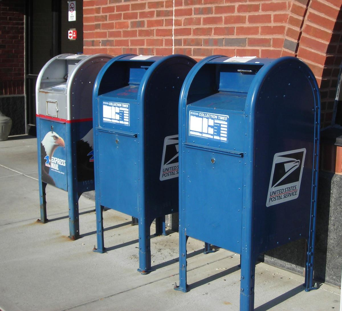 Beware of using postal blue boxes when mailing checks | Colorado