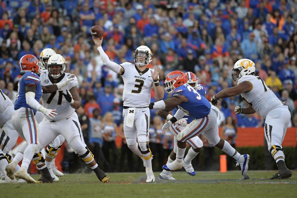 Drew lock Missouri Florida Football (copy)