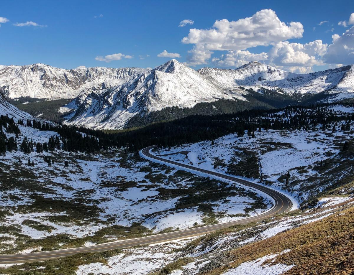 The view from Cottonwood Pass. Photo Credit: Spencer McKee, OutThere Colorado.