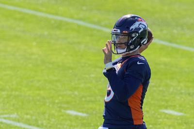 Broncos OTA Football Lock