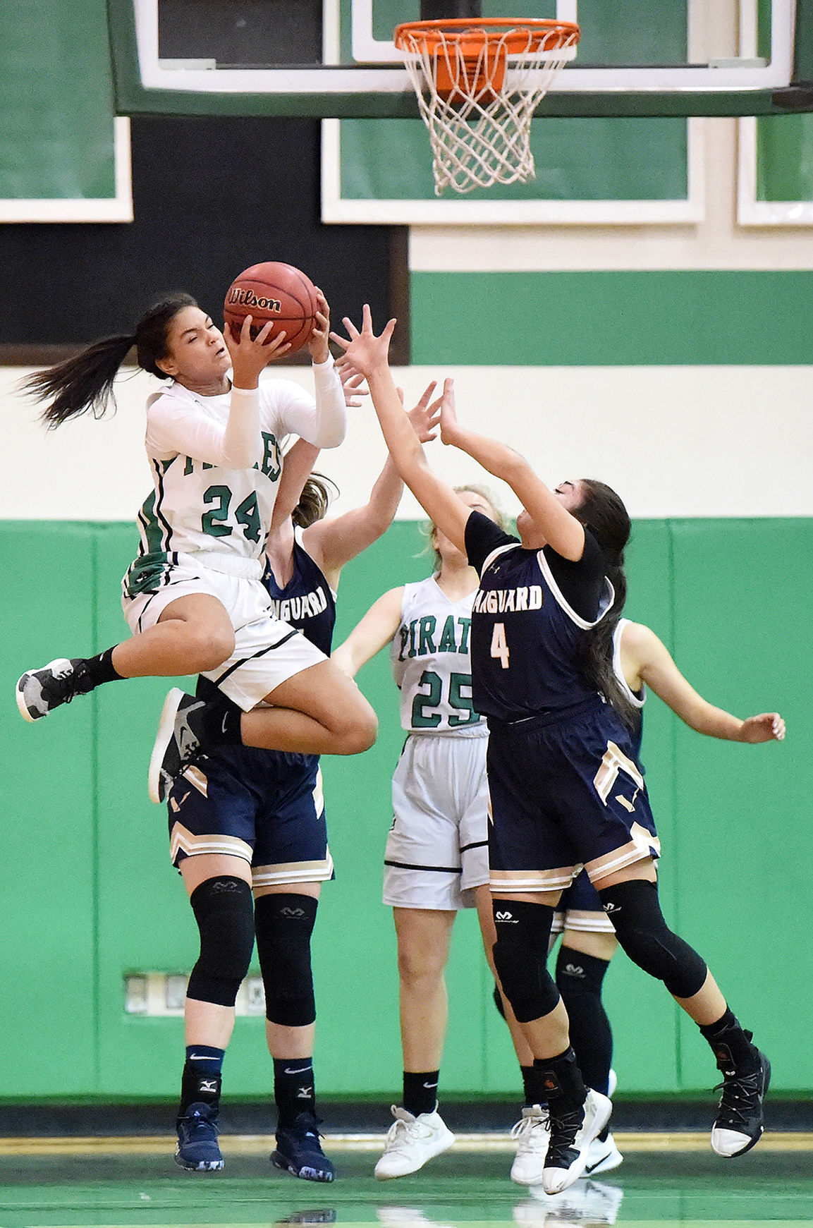 PHOTOS: St. Mary's Pirates (82) Vanguard Coursers (39)