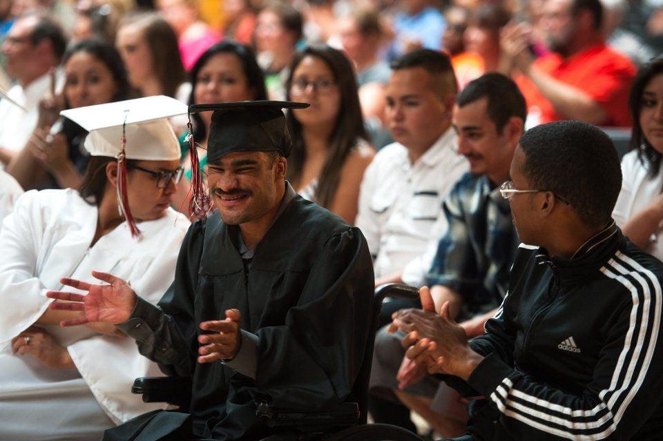 Deaf and Blind Graduation