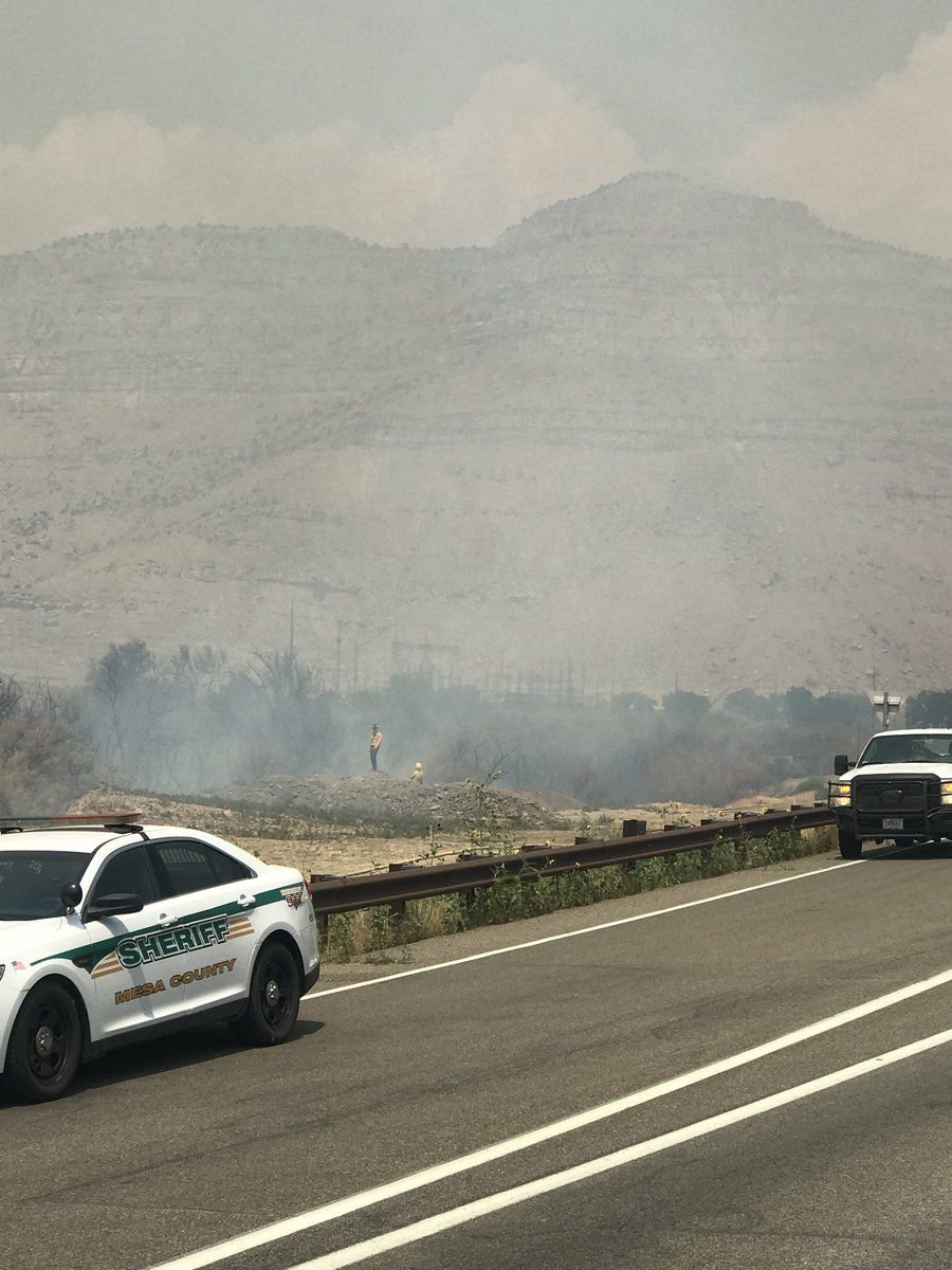 Tuesday's traffic: I-70 closed in both direction due to fire