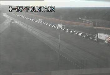 Major crash on I-25 closes northbound and southbound lanes in Colorado Springs