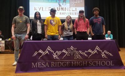 Mesa Ridge signing