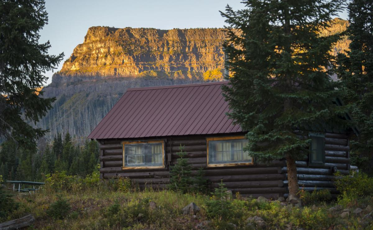 One of the rustic cabins Thursday, Sept. 8, 2016, at Trappers Lake Lodge in northwest Colorado. (The Gazette, Christian Murdock)