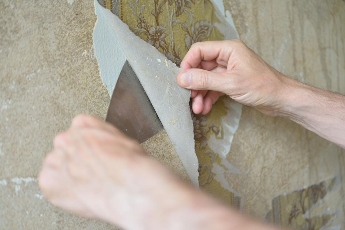 Solving wallpaper, heat duct and garbage disposal problems