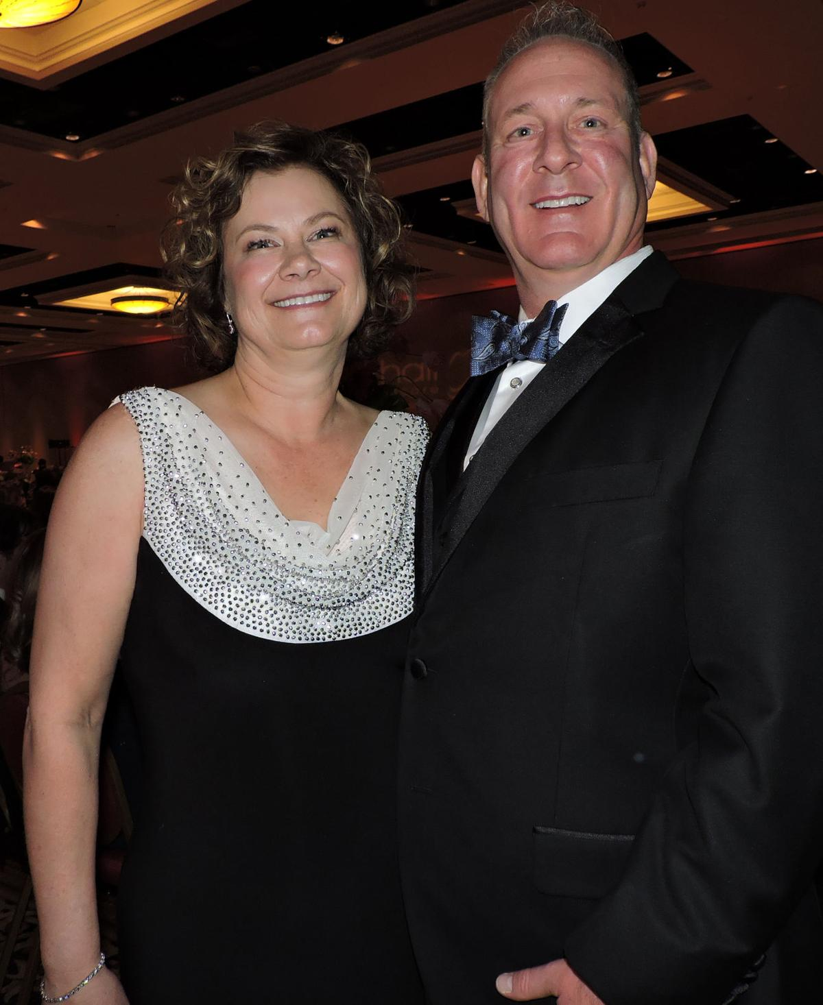 UCHealth Memorial Hospital Gala: Co-chairs Andrea Hurlbert and Andrew Will 042818 Photo by Linda Navarro
