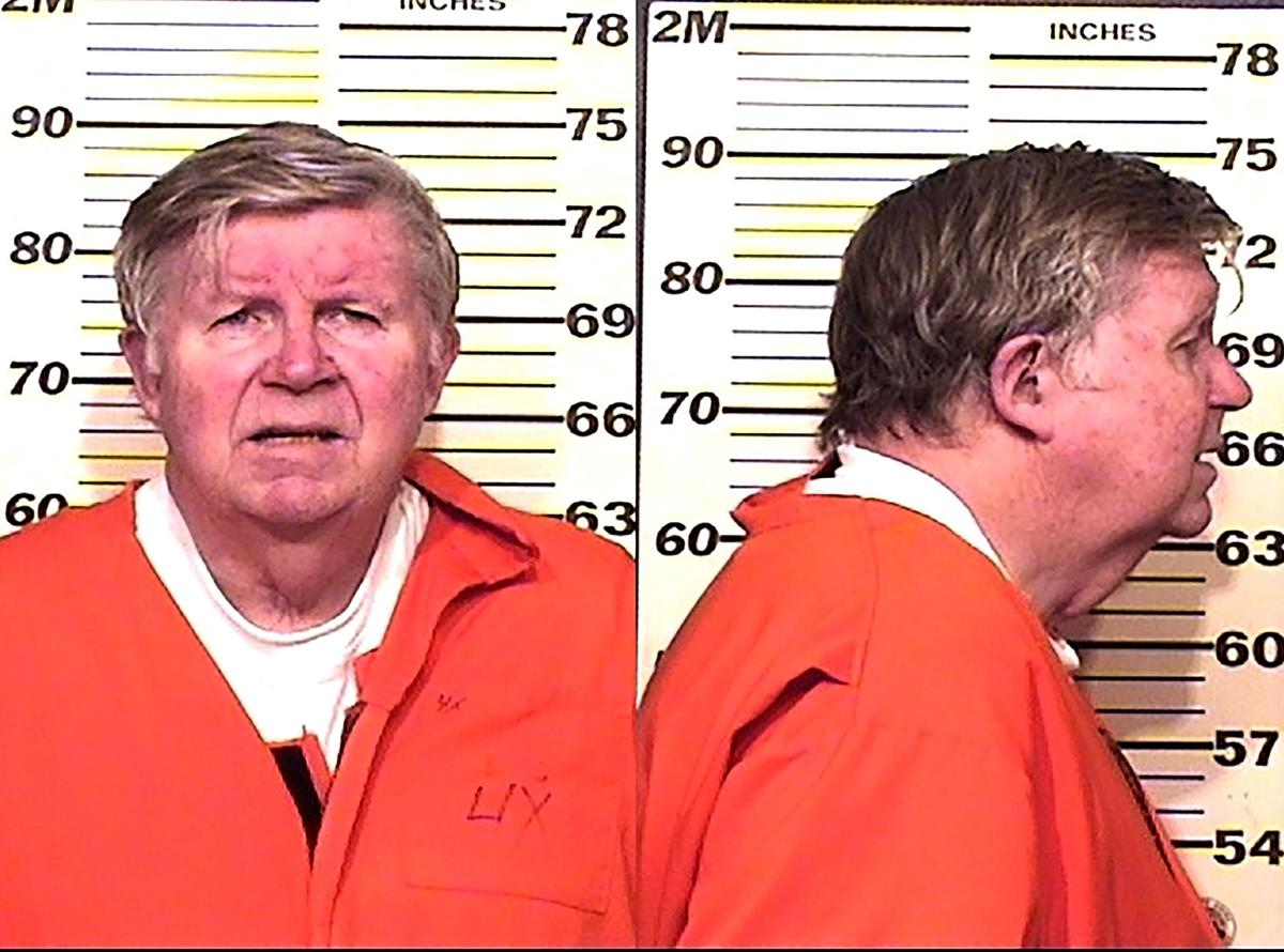 2016 booking photo of Doug Bruce from the Colorado Department of Corrections.