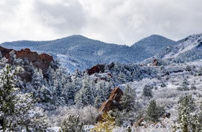 Christmas In Colorado Mountains.Snow In The Colorado Springs Forecast After Christmas