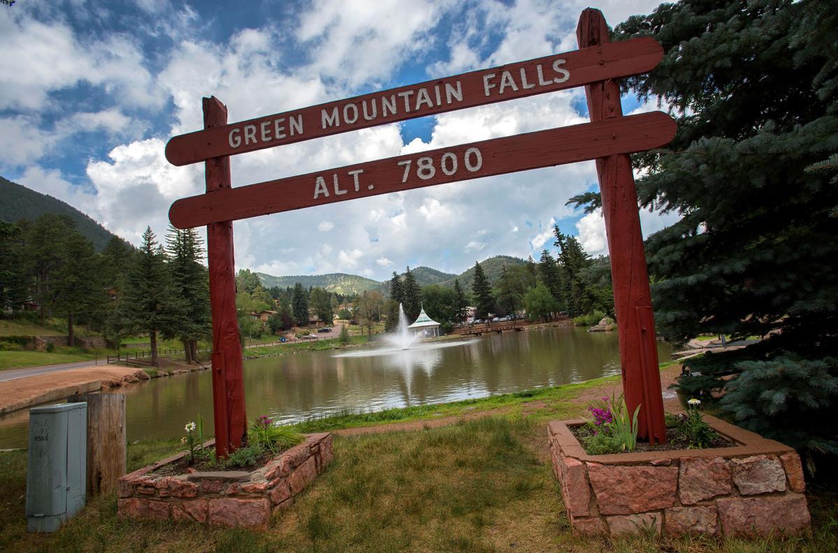 Neighborhoods. Green Mountain Falls taken Aug. 10, 2015. (The Gazette, Christian Murdock)