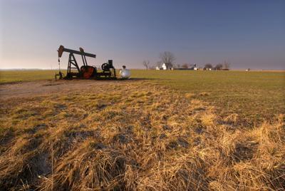 oil gas home farm