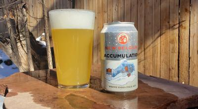 Accumulation white India Pale Ale, from New Belgium Brewing Co.