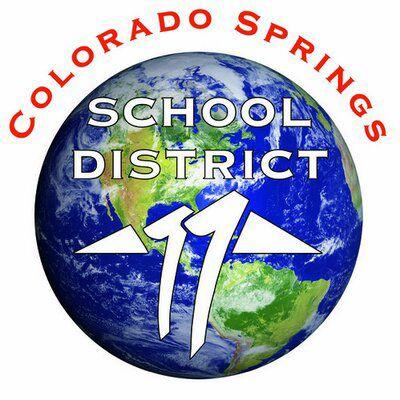 Colorado Springs School District 11 logo