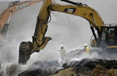 Tire wall fire prompts El Paso County to consider rescinding waiver