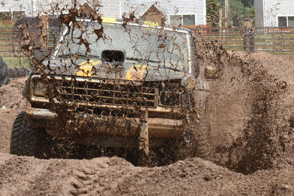 Mud and tough NAPA Tough Truck competition