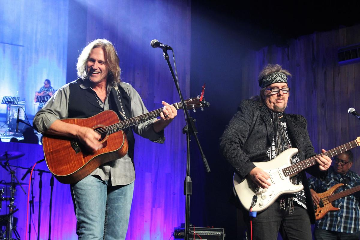 Country star Billy Dean former Ambrosia lead singer David Pack