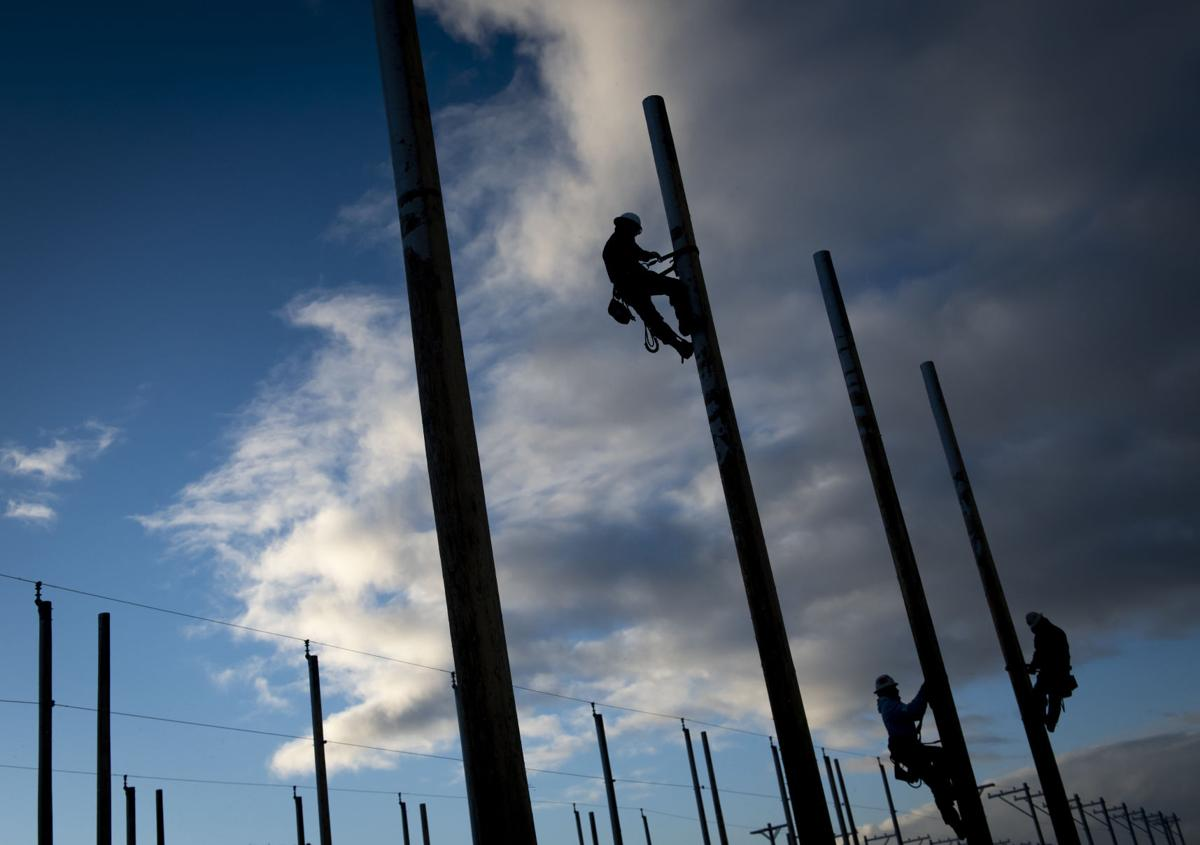 Linemen demonstrate skill in Lineworkers Rodeo