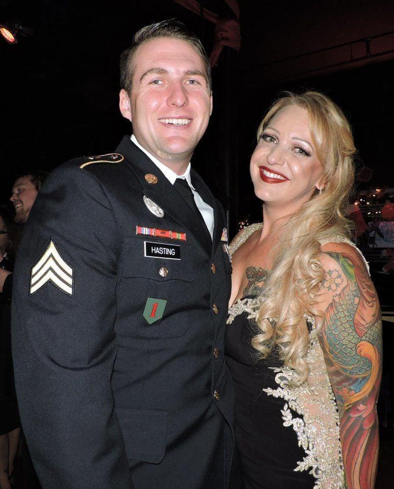 YOT Club: Sgt. Joshua Hasting and Charity Vanderveer 111817 Photo by Linda Navarro