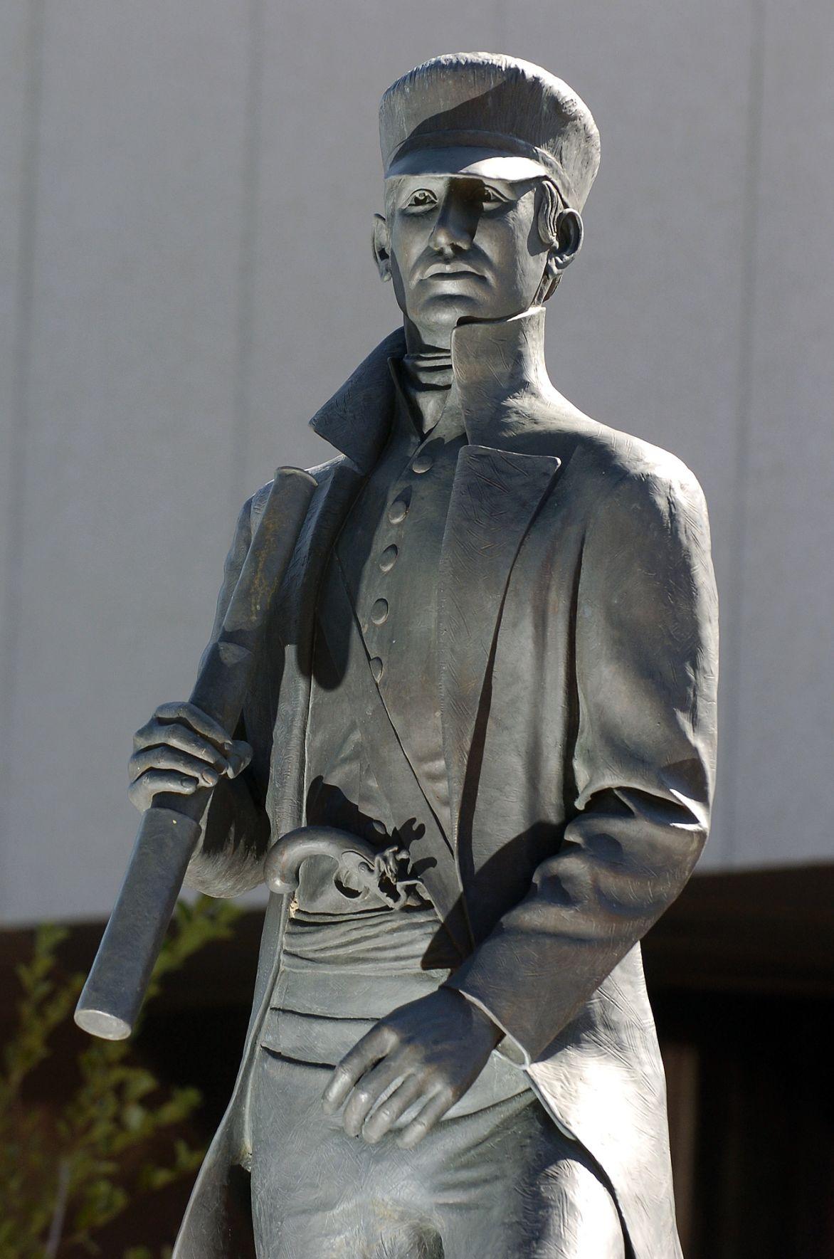 (WOODMEN) Zebulon pike statue dedication