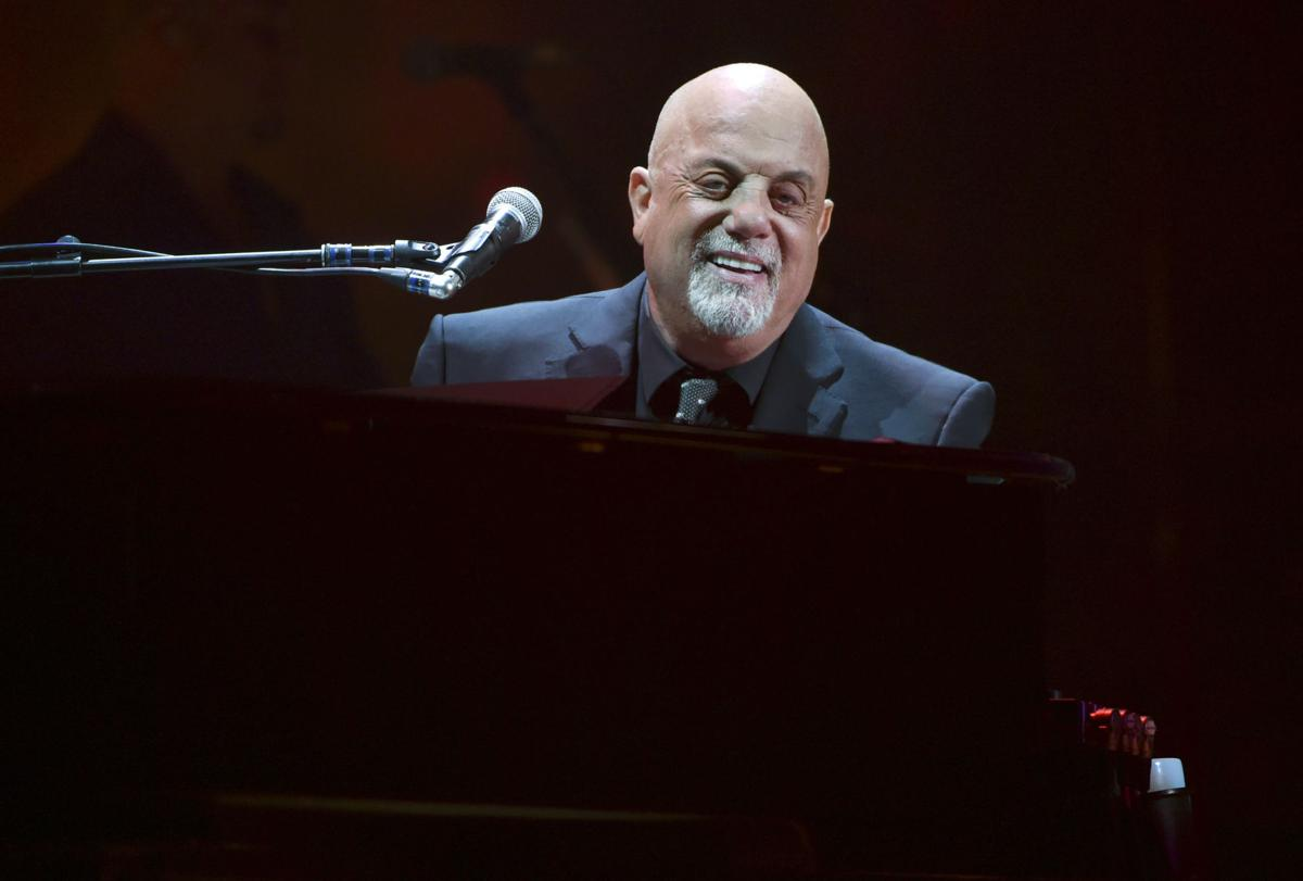 APTOPIX Billy Joel 100th Lifetime Performance