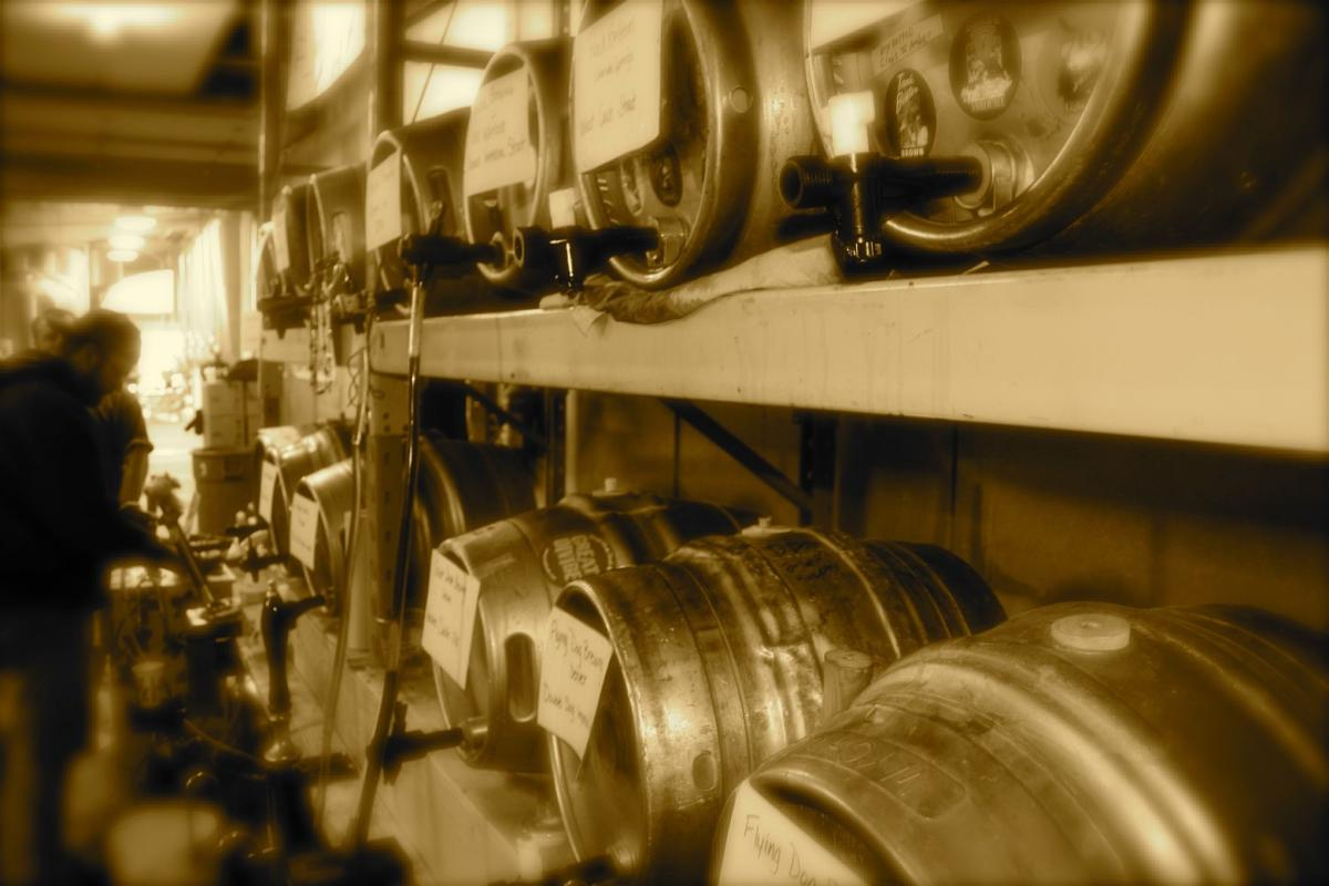 Pikes Pub: It's about firkin time