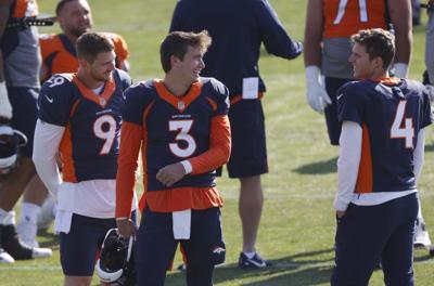 Broncos QBs Return Football
