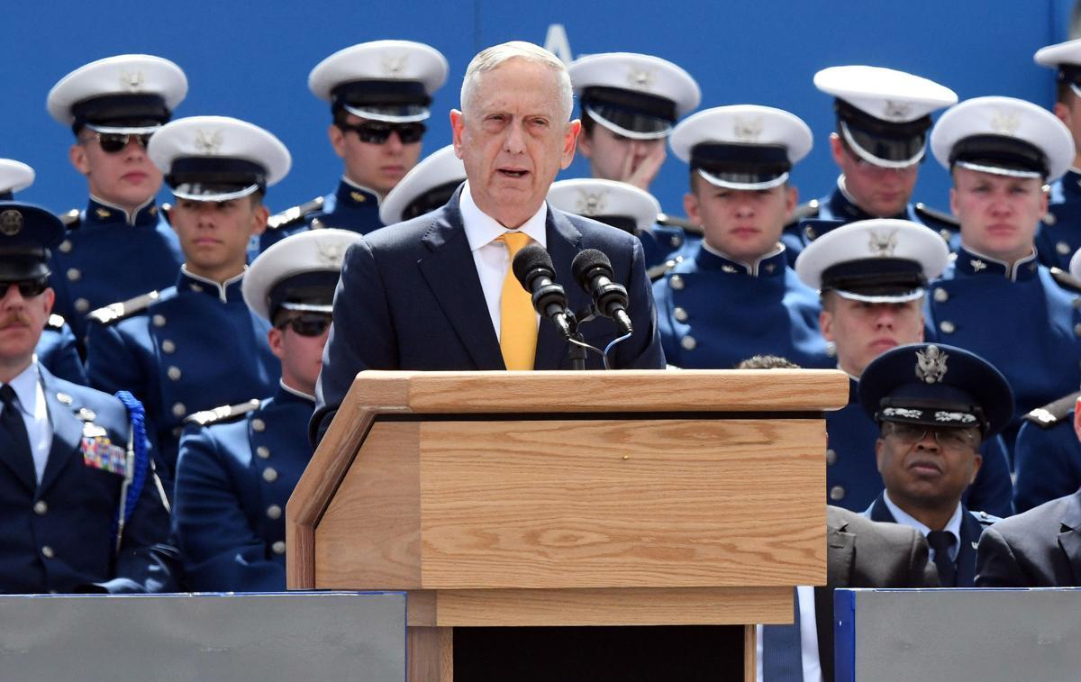 Mattis at USAFA