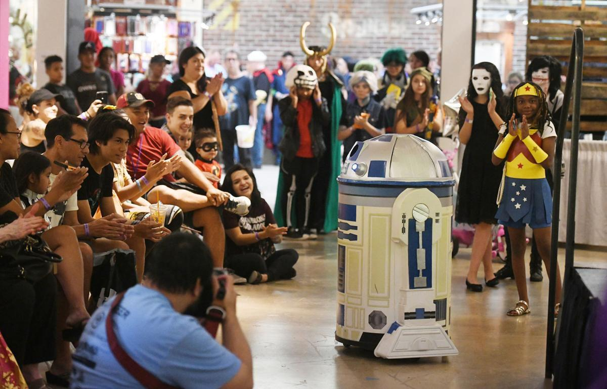 Comic book, pop culture characters descend upon Colorado Springs at Comic Con event