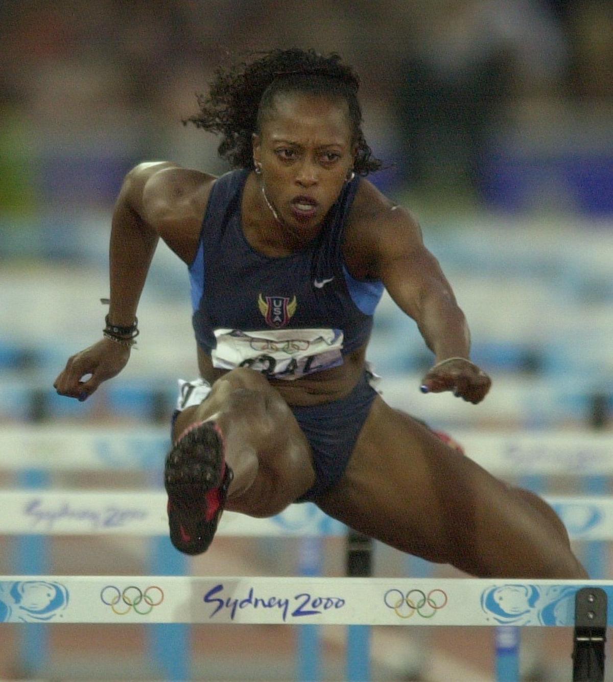 gail devers sydney olympics 2000