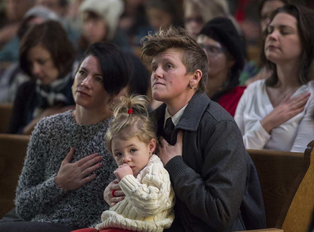 Different tones at vigils for Colorado Springs shooting victims