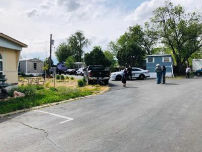 Shots fired at police during standoff situation in Fountain