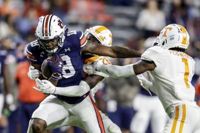 Tennessee Auburn Football Williams
