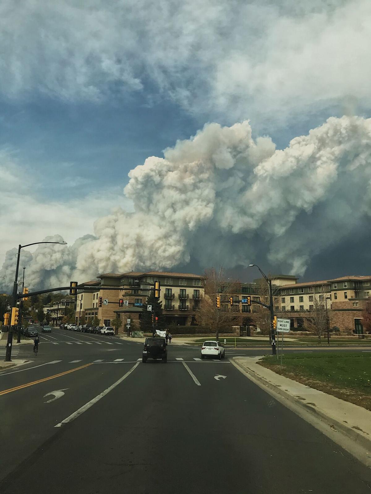 Firing burning in Jamestown