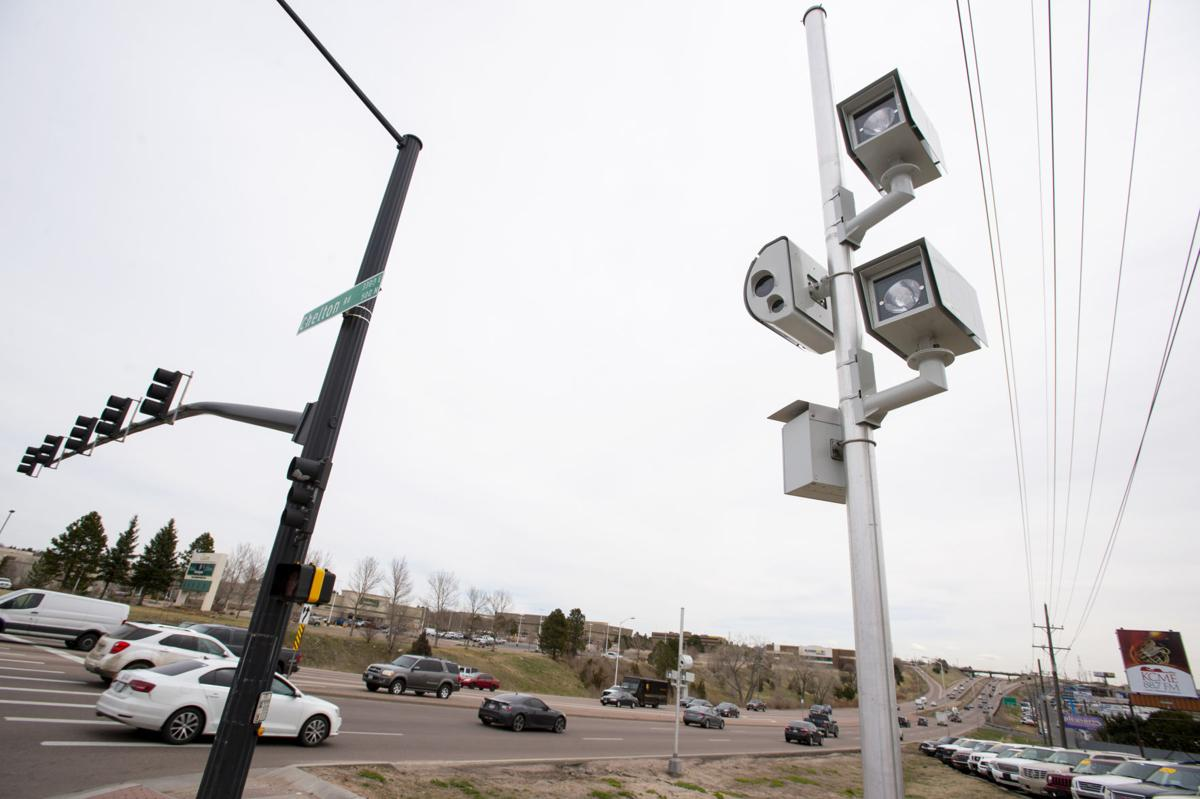 Cameras to begin watching for red-light runners at two