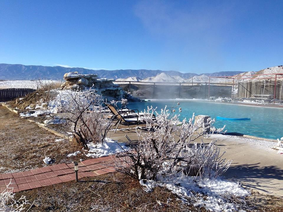 Find relaxation in a hot springs getaway just an hour away