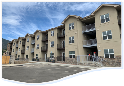 The Ridge affordable-housing campus completed in January