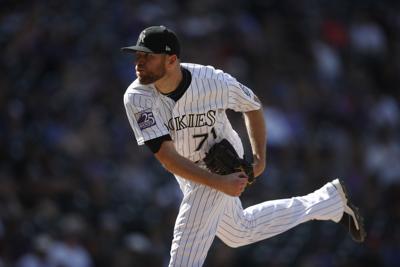 Padres Rockies Baseball