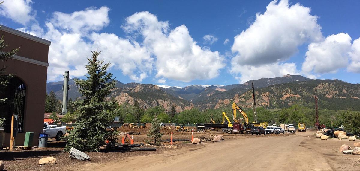 (CHEYENNE) Broadmoor Hall construction