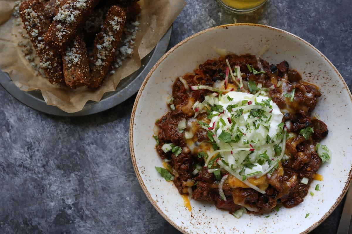 wild boar chili and indigo cornbread fries.JPG