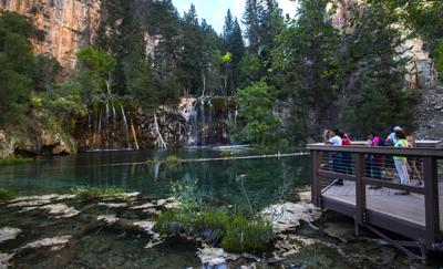 Hanging Lake management plan delayed as busy summer expected on famed Colorado trail (copy)