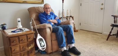 Chalmer Ferguson at his home in Colorado Springs