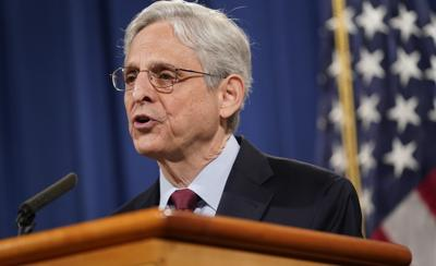 Garland limits DOJ contact with White House
